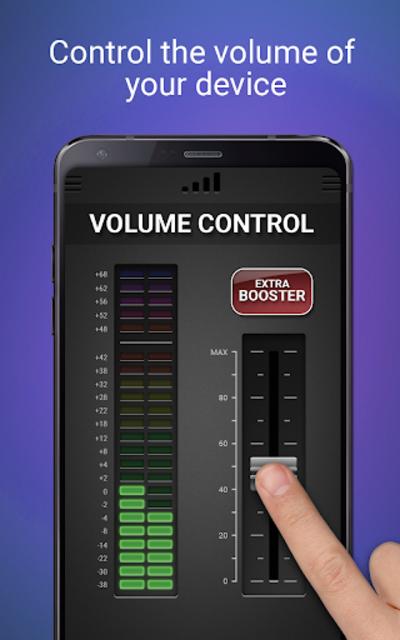 Volume Booster & Equalizer screenshot 1