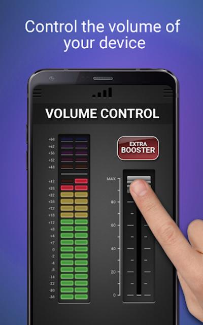Volume Booster & Equalizer screenshot 2