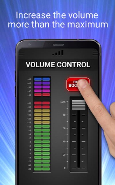 Volume Booster & Equalizer screenshot 3