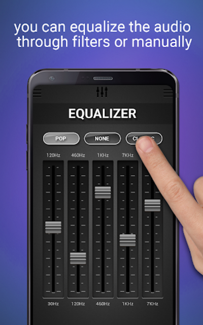 Volume Booster & Equalizer screenshot 4