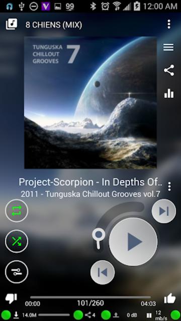 Muzecast Hi-Def Music Streamer screenshot 3