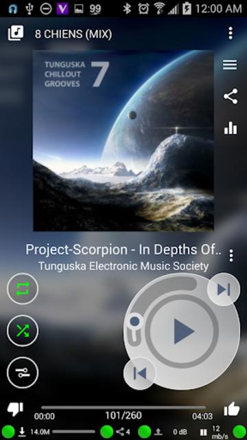 Muzecast Hi-Def Music Streamer screenshot 5