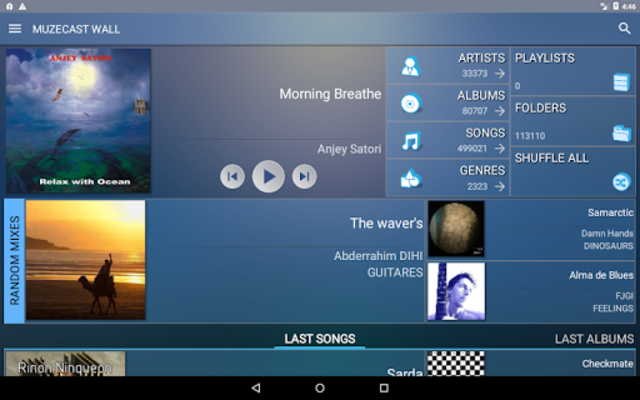 Muzecast Hi-Def Music Streamer screenshot 7