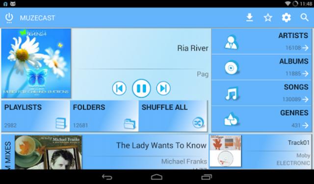 Muzecast Hi-Def Music Streamer screenshot 16