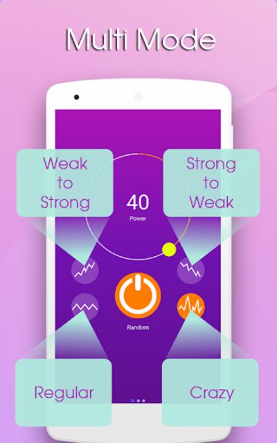 Massager Vibration App screenshot 14