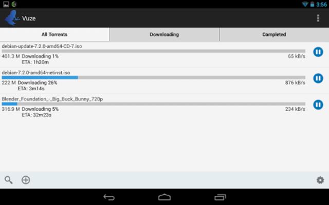 Vuze Torrent Downloader screenshot 5
