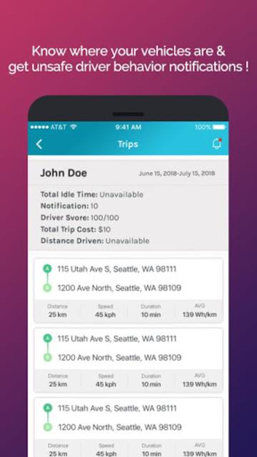 Vyncs: Connected Car OBD Link screenshot 3