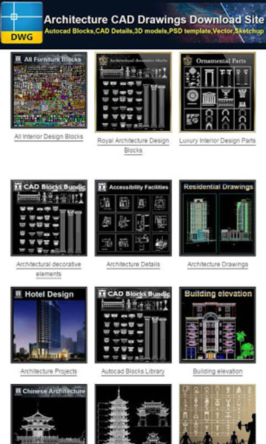 Download Autocad Drawings screenshot 4
