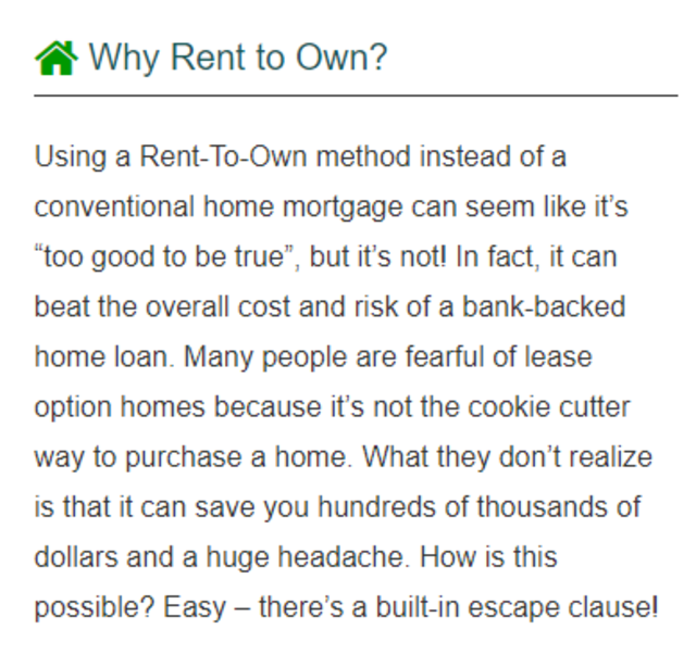 For Rent - Rent to Own Homes screenshot 3