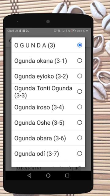 Signos del Diloggun screenshot 4