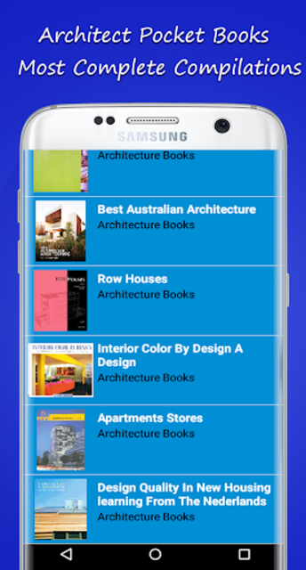 Architect Pocket Books screenshot 4