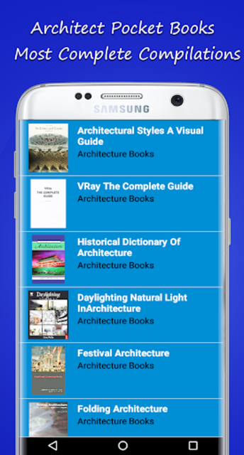 Architect Pocket Books screenshot 7