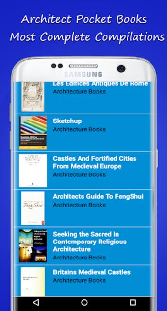 Architect Pocket Books screenshot 13