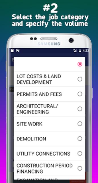 Building Cost Estimator screenshot 3