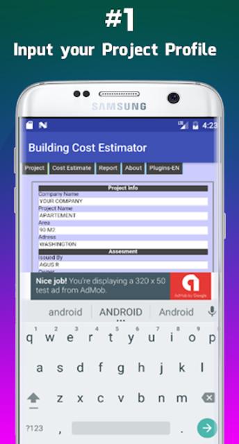 Building Cost Estimator screenshot 7