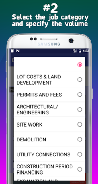Building Cost Estimator screenshot 13