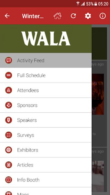 WALA Events screenshot 3