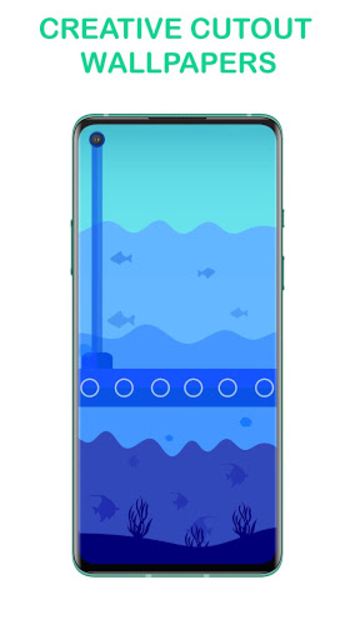 ProPix - Punch Hole Wallpapers for OnePlus 8 & Pro screenshot 1