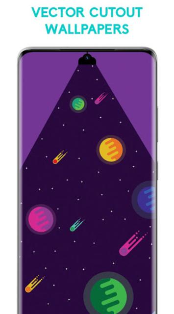 UltraPix - S21, S20 Punch Hole Cutout Wallpapers screenshot 4