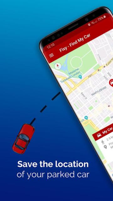 Fixy - Find My Car screenshot 1