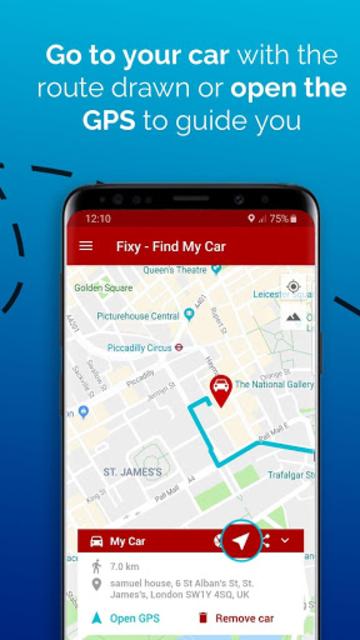Fixy - Find My Car screenshot 3