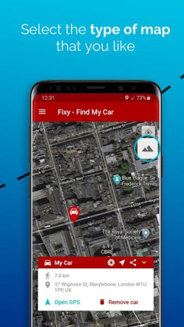 Fixy - Find My Car screenshot 5
