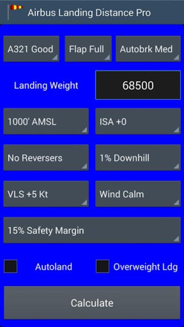 Airbus Landing Distance - Pro screenshot 1