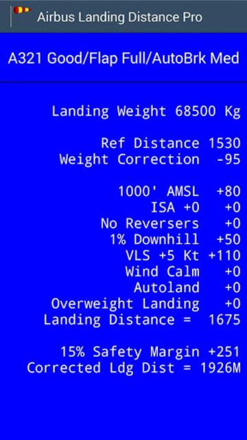 Airbus Landing Distance - Pro screenshot 2