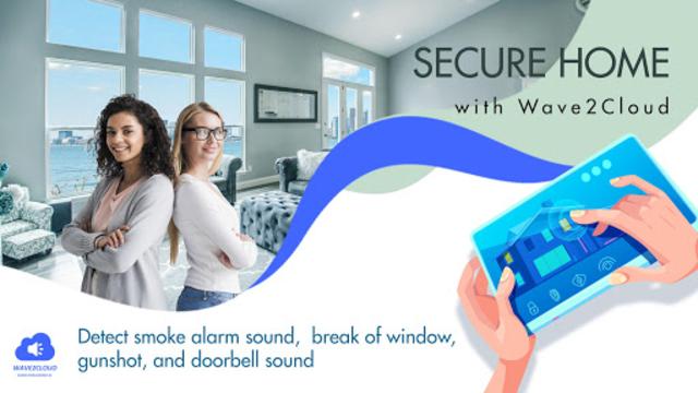 Wave2Cloud - Home Security Camera, Audio Detection screenshot 5