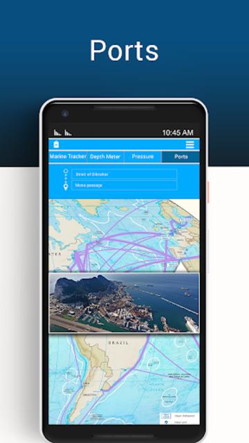 Marine Tracker Ship Finder-Vessel Positions Free screenshot 4