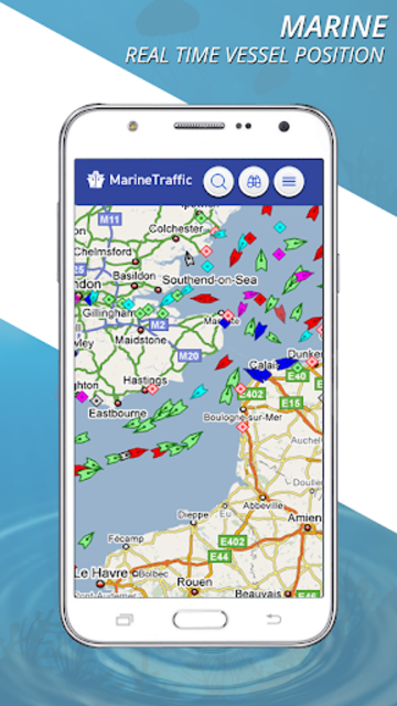 Marine Traffic Ship Tracker: Vessel Positions Free screenshot 1