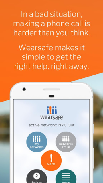 Wearsafe Personal Safety screenshot 1