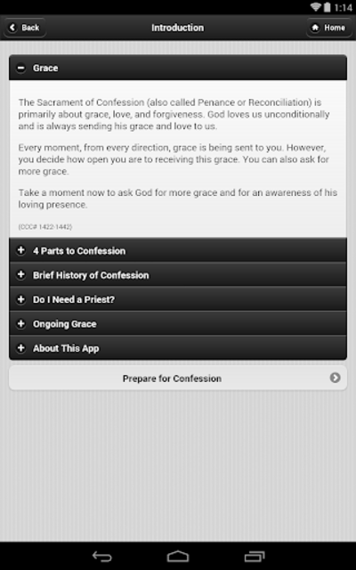 Confession App: Catholic screenshot 2