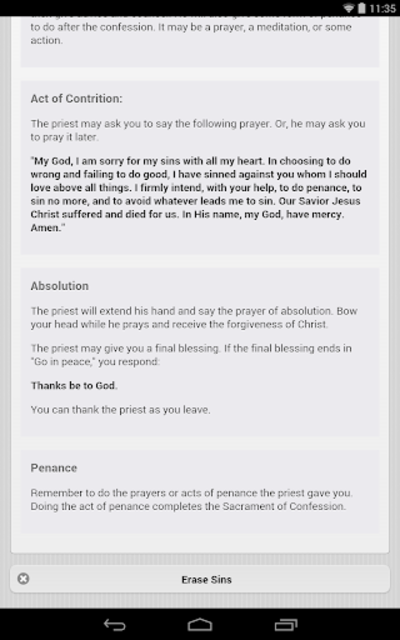 Confession App: Catholic screenshot 13