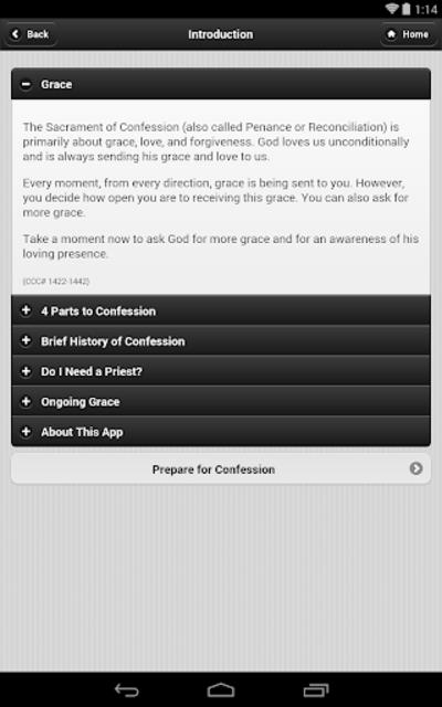 Confession App: Catholic screenshot 16