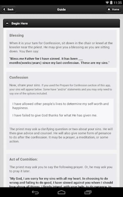 Confession App: Catholic screenshot 19