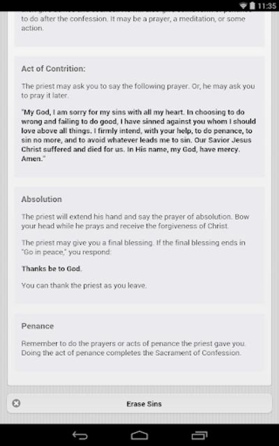 Confession App: Catholic screenshot 20