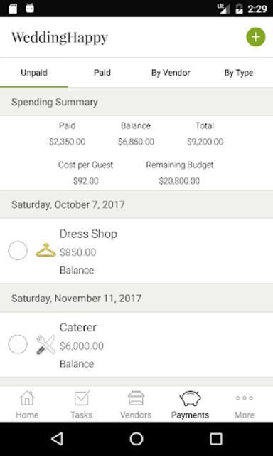 WeddingHappy - Wedding Planner screenshot 3