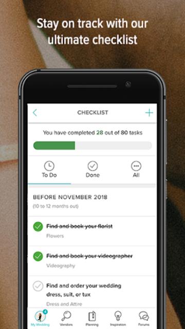 Wedding Countdown & Checklist: Wedding Planner App screenshot 4