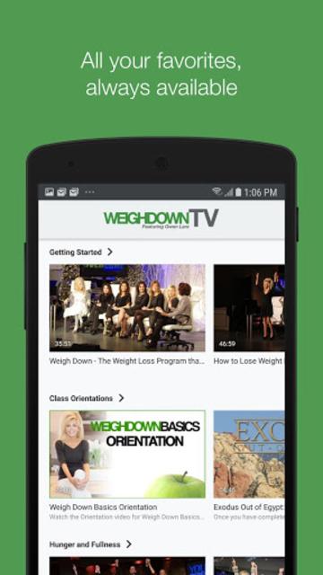 Weigh Down TV screenshot 3