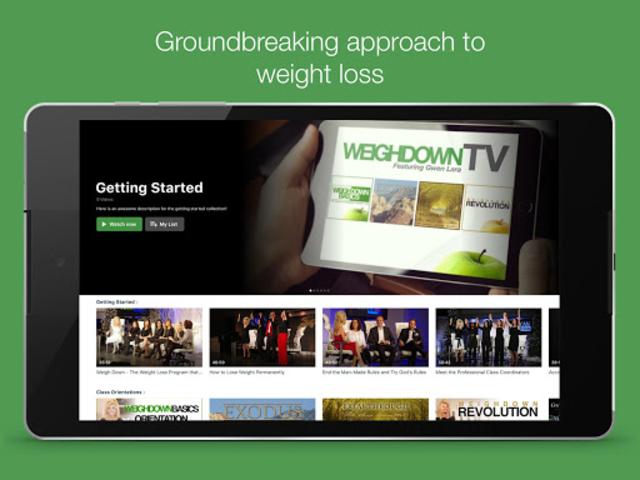Weigh Down TV screenshot 12