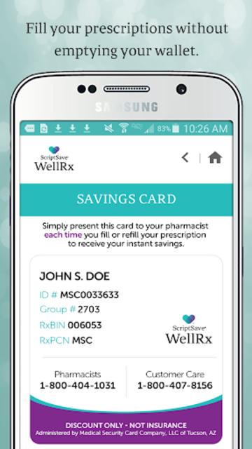 QL RX Savings screenshot 2