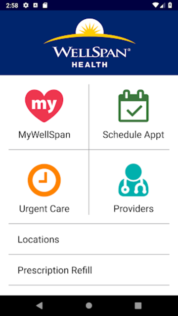 WellSpan Health screenshot 1