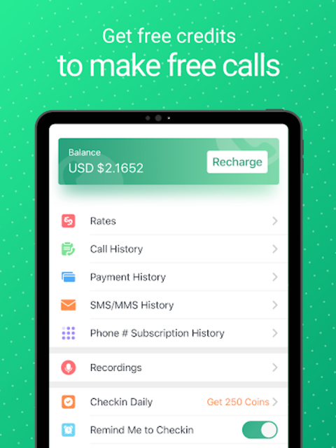 WeTalk - Free International Calling & Texting screenshot 16