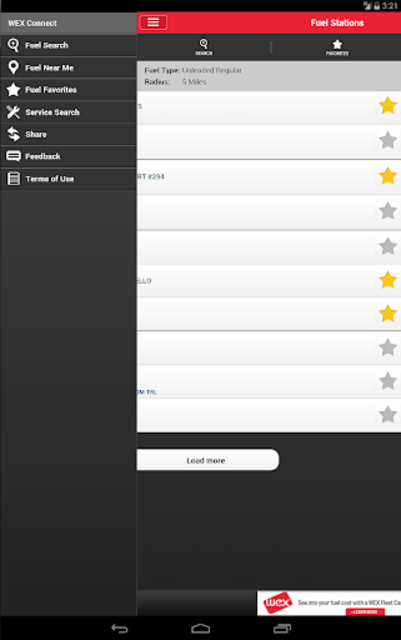 WEX Connect screenshot 9