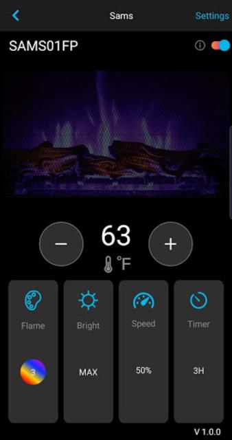 Whalen Premier Fireplace screenshot 2