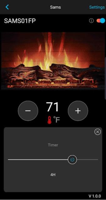 Whalen Premier Fireplace screenshot 3
