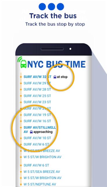 New York Bus Time App screenshot 3