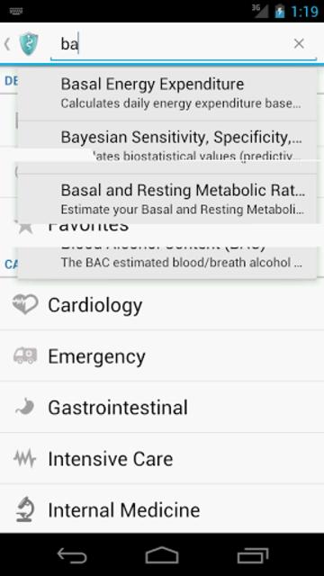 MediCalc Medical Calculator screenshot 3