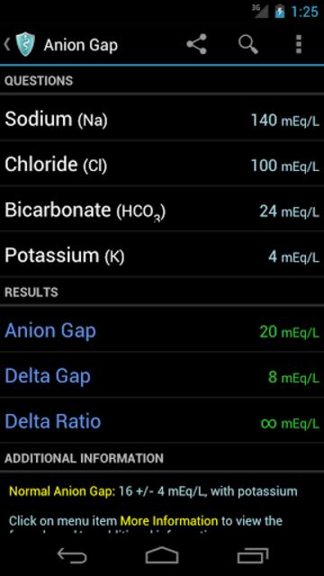 MediCalc Medical Calculator screenshot 4